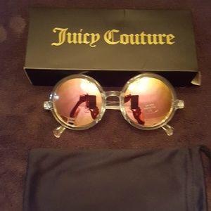 Juicy couture plastic sunglasses
